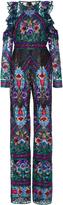 Naeem Khan Sequin Embroidered Jumpsuit