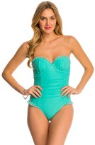 Betsey Johnson Ballerina Mesh One Piece Swimsuit 8140773