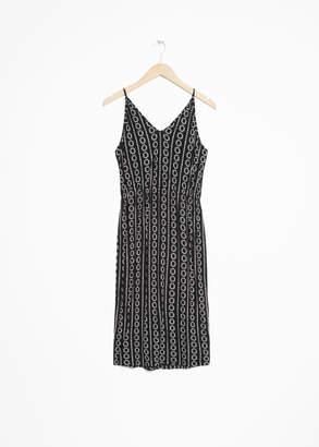 And other stories Tie Back Dress