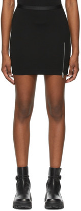 Alyx Black Logo Waistband Sport Miniskirt