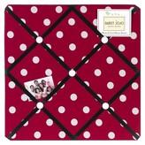 JoJo Designs Sweet Polka Dot Ladybug Photo Memo Board - Red-Black-White