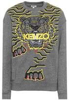 Kenzo Sweat-shirt en coton imprimé