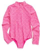 Girl's Mott 50 Upf 50+ One-Piece Swimsuit
