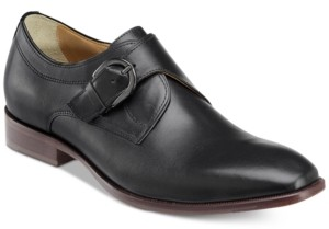 Johnston & Murphy Men's McClain Monk Strap Slip-on Loafers Men's Shoes