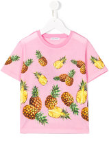 Dolce & Gabbana pineapple print T-shirt - kids - Cotton - 2 yrs