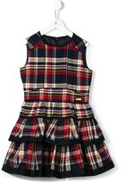 DSQUARED2 tartan dress - kids - Cotton/Acrylic/other fibers - 6 yrs