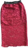 Vicolo Red Skirt for Women