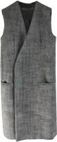 Haider Ackermann Grey Wool Coat for Women