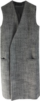 Haider Ackermann Grey Wool Coats