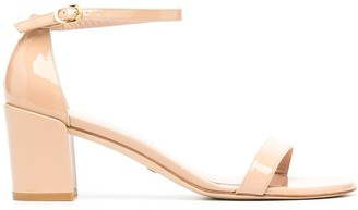 Stuart Weitzman Simple block heel sandals