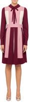 Valentino L/S Colourbocked Shirt Dress