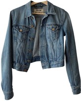 Acne Studios Blue Denim - Jeans Leather jackets