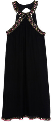 Matthew Williamson Embellished Halterneck Dress S