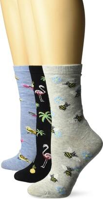 DAVCO Women's Novelty Socks 3 Pair Pack Set