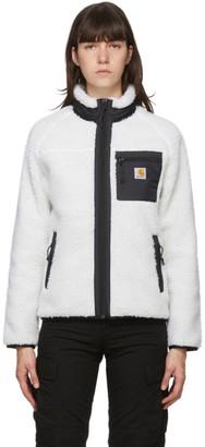 Carhartt Work In Progress White Prentis Jacket