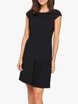 Damsel in a Dress Zeeka Pleat Dress, Black