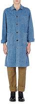 Loewe Men's Washed Denim Coat-LIGHT BLUE