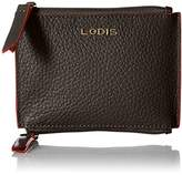 Lodis Women's Kate Frances Double Zip Pouch Keycase Coin Purse