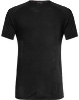Y-3 Crew-neck Wool-blend Running T-shirt