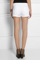 Rag and Bone Rag & bone The Mila mid-rise cut-off twill shorts
