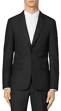 Sandro Lapel Slim Fit Suit Jacket