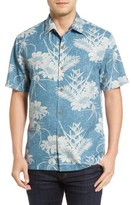 Tommy Bahama Men's Sand Torini Blooms Standard Fit Silk Blend Camp Shirt
