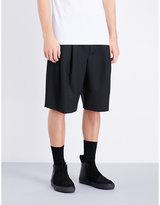 Mcq Alexander Mcqueen Mid-rise Woven Shorts