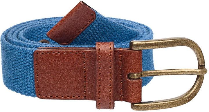 American Apparel Unisex Spun Poly-Web Leather Belt