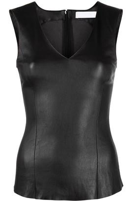 Drome V-neck sleeveless top