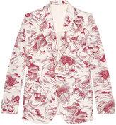 Gucci Heritage Sea Storm print jacket - men - Cotton/Silk - 46