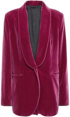 Brunello Cucinelli Bead-embellished Cotton-velvet Blazer