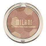 Milani Illuminating Face Powder, Hermosa Rose [02] 0.35 oz (Pack of 4)