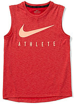 Nike Big Boys 8-20 Breathe Hyper GFX Muscle Tank