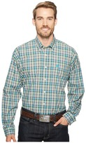 Cinch Plain Weave Plaid Men's Clothing