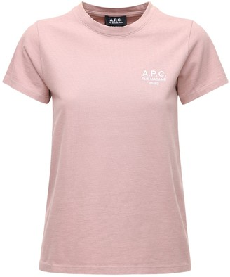 A.P.C. Denise Logo Cotton Jersey T-shirt
