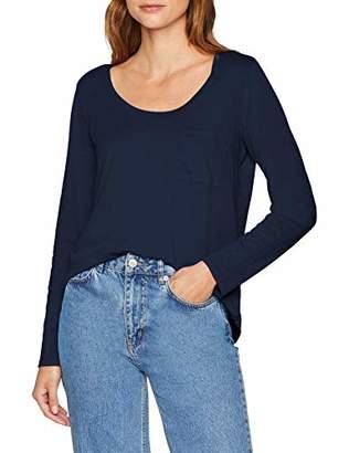 Eddie Bauer Women's Gypsum T-Shirt-Langarmshirt aus Baumwolle-S-XXL Longsleeve,S