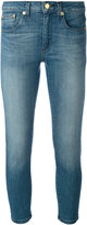 MICHAEL Michael Kors stonewashed cropped jeans