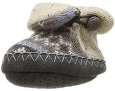 Muk Luks Kids' Vintage Sweater Baby Slipper Slide