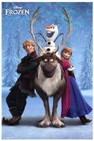 Art.com Disney's Frozen Team Poster Wall Art by