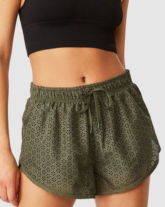 Cotton On Body Active - Women's Green Shorts - Move Jogger Shorts - Size XS at The Iconic