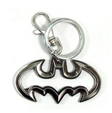 Batman Cutout Pewter Key Ring