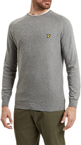 Lyle & Scott Textured Links Panel Jumper