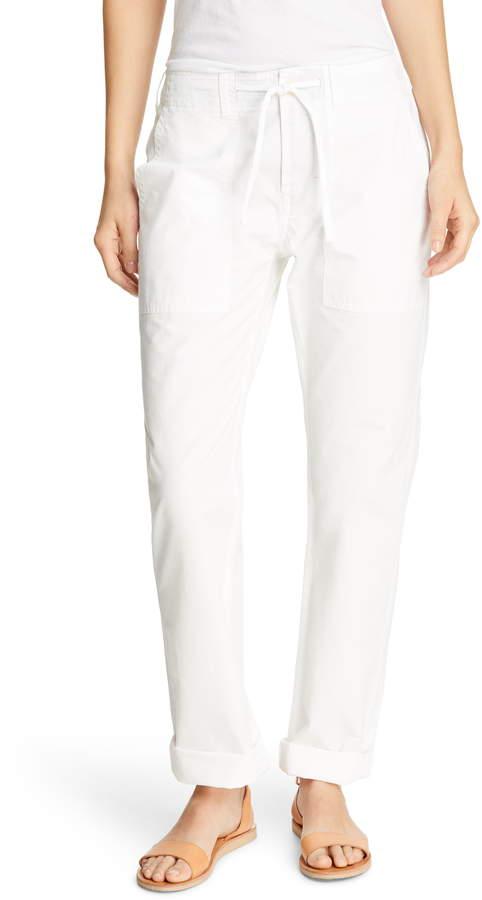Alex Mill Drawstring Waist Ripstop Cotton Pants