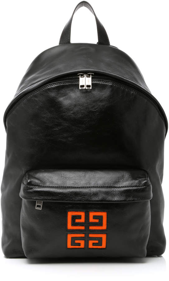 Givenchy Leather Logo Backpack