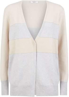 Peserico Stripe Knitted Cardigan