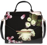 Ted Baker Large Kensington Lady Bag Top Handle Satchel - Black