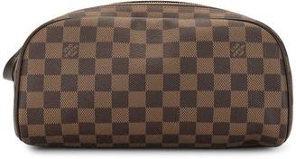 Louis Vuitton 2011 pre-owned maxi Damier makeup bag