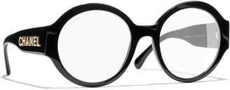 Chanel Round Sunglasses CH5410 Black