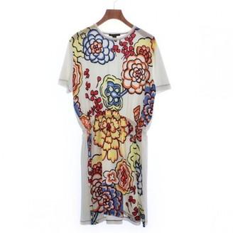 Louis Vuitton White Silk Dresses