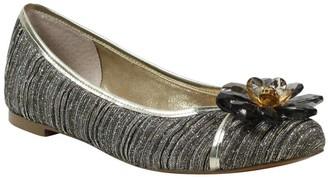 J. Renee Glitter Fabric Slip-On Flats - Panyin